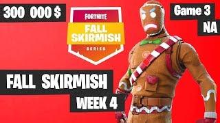 Fortnite Fall Skirmish - Week 4 Game 3 BIG BONUS (SOLOS)