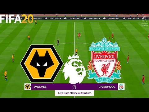 FIFA 20 | Wolves vs Liverpool - English Premier League 19/20 - Full Match & Gameplay