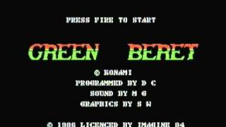 green beret game music