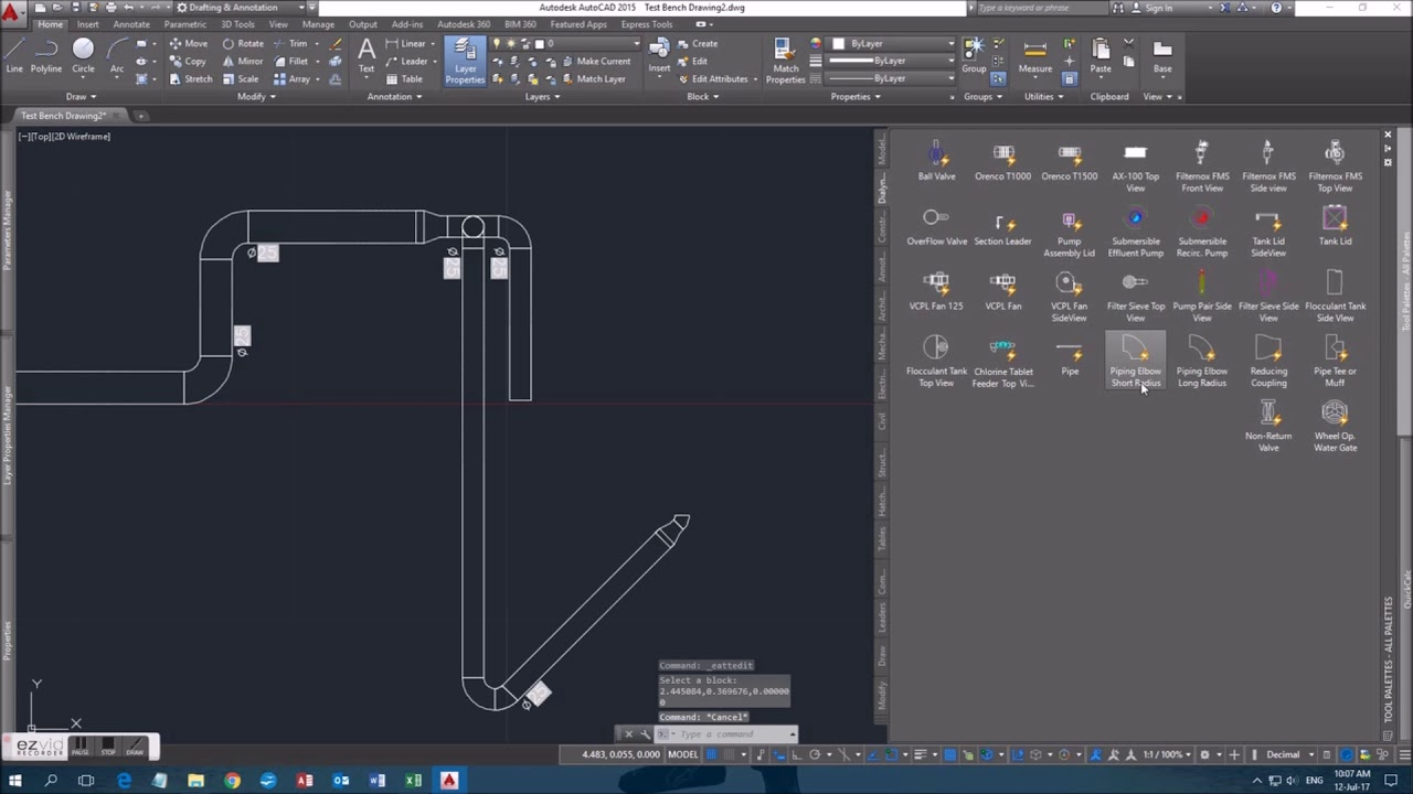 AutoCAD Piping