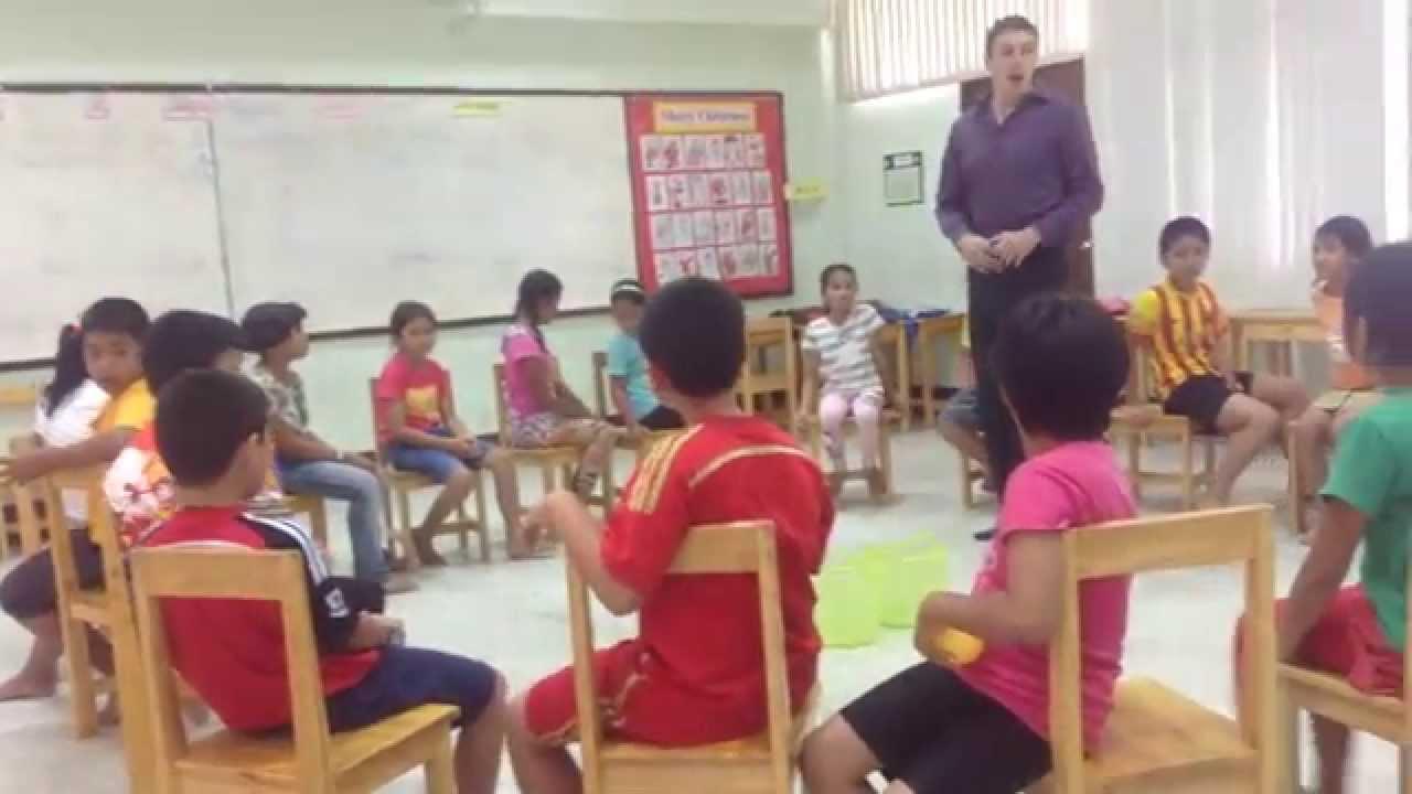 Teacher Sam English Camp Games Days Of The Week