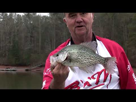 Winter Time Crappie Fishing On West Point Lake