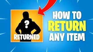 How to Return Fortnite Items (Refund Skin, Pickaxe, Emote, Glider)