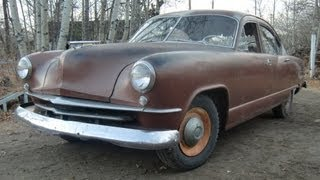 1951 Kaiser Saved from the Crusher!