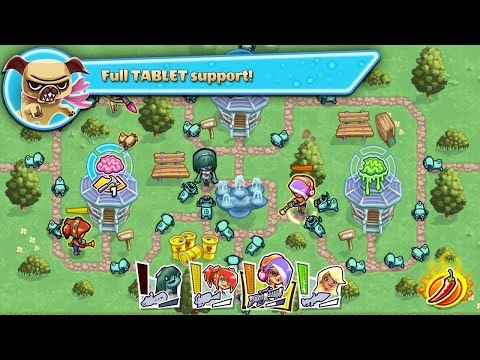 """Guns'n'Glory Zombies """"Strategy Games"""" Android Gameplay Video"""