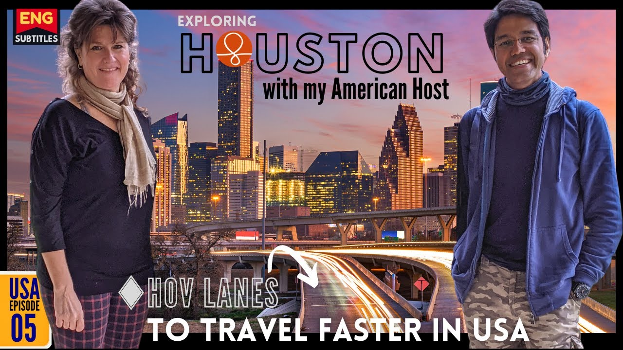 FIRST DAY IN HOUSTON | Couchsurfing in America [USA #5] (Eng Sub)