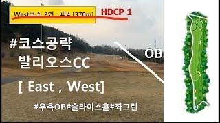 [코스공략] 발리오스CC#동,서 (구)발안cc_ 티샷 …