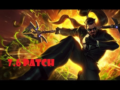 🔴 Turkinator ˆ Xin Zhao vs Ivern - Jungle - Victory - Challenger Tier EUW - patch 7.6 - Season 7
