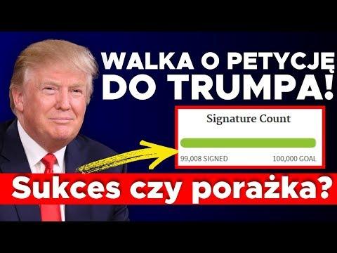 Walka o petycję do Trumpa! Sukces czy porażka? Kowalski & Chojecki NA ŻYWO w IPP TV 14052018