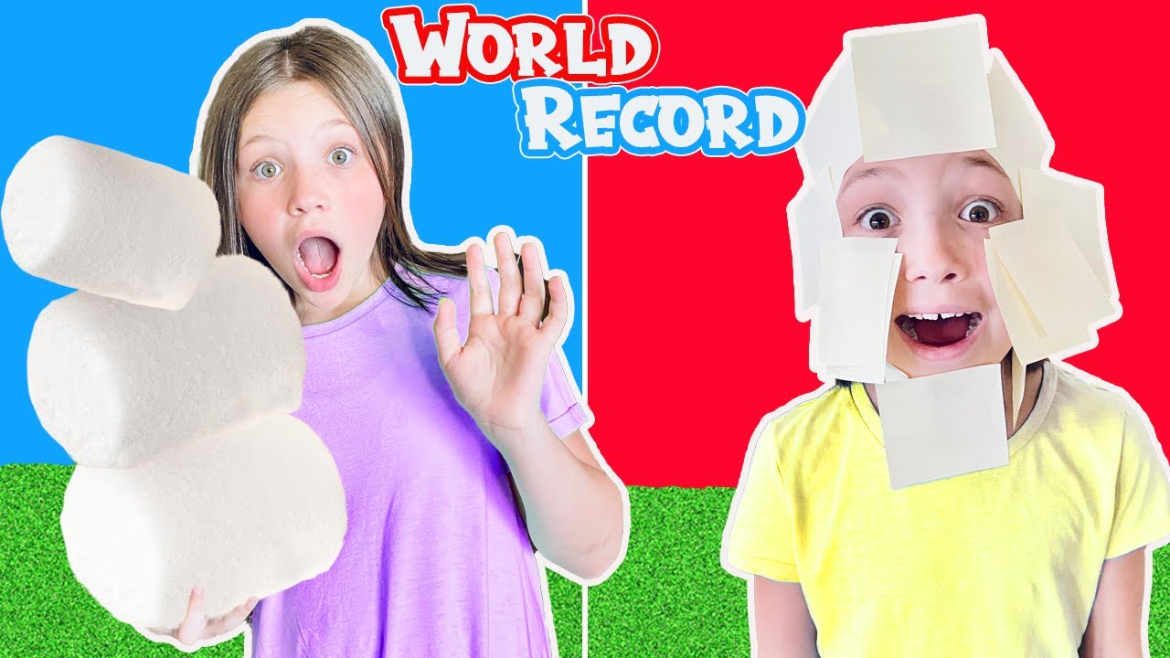 BREAKING Crazy WORLD RECORDS!! Funny Last To Fail Challenge!