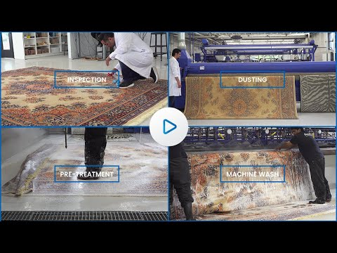 LoveYourRug - Rug Cleaning Process Video and Facility Tour