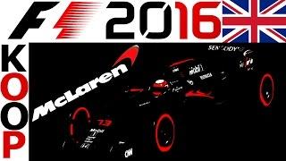 F1 2016 KOOP Saison 1 #10 – Silverstone, Großbritannien – Lets Play Formel 1 2016 Gameplay | CSW
