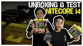 uNBOXING & TEST NITECORE i4 (Indonesia)