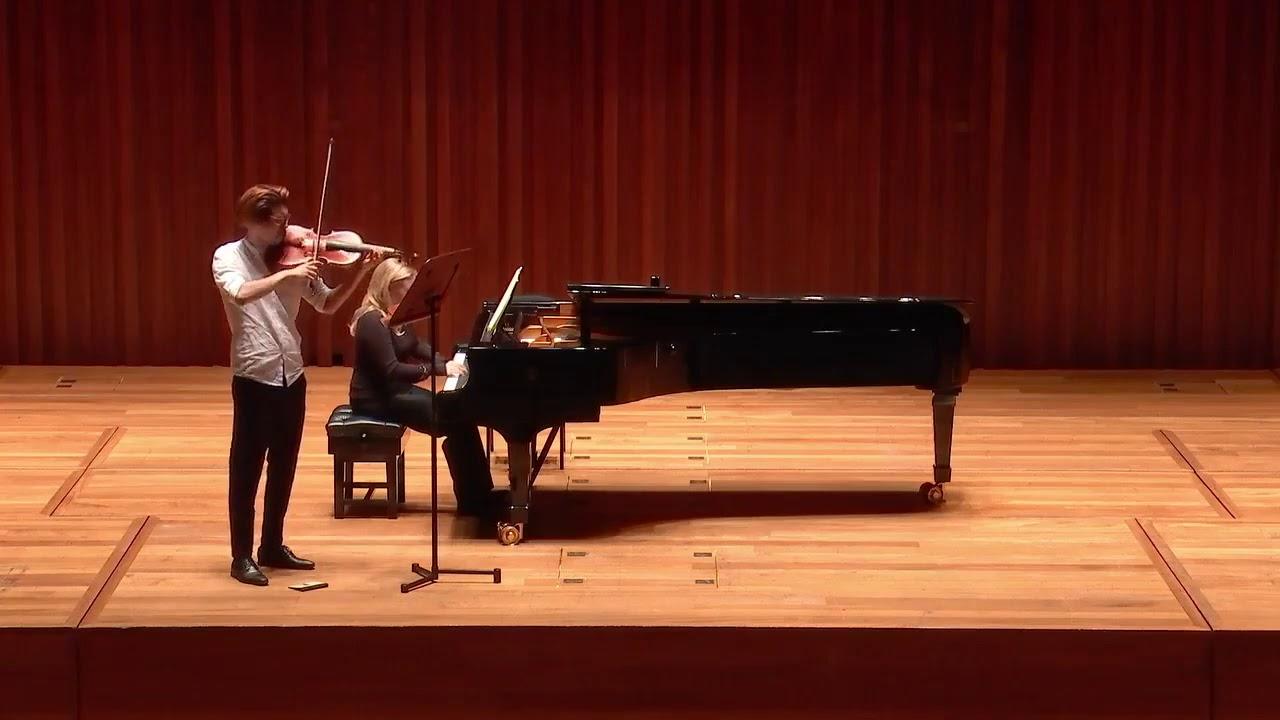 H. Vieuxtemps - Viola Sonata in B-flat major: II. Barcarolla: Andante con moto