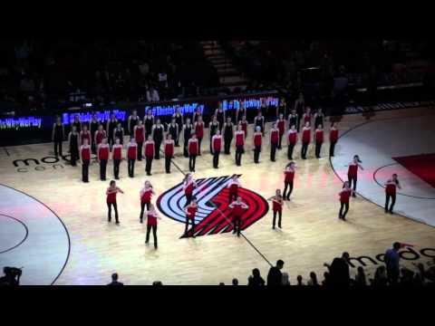 Portland Blazers vs Atlanta Hawks Half Time Co II