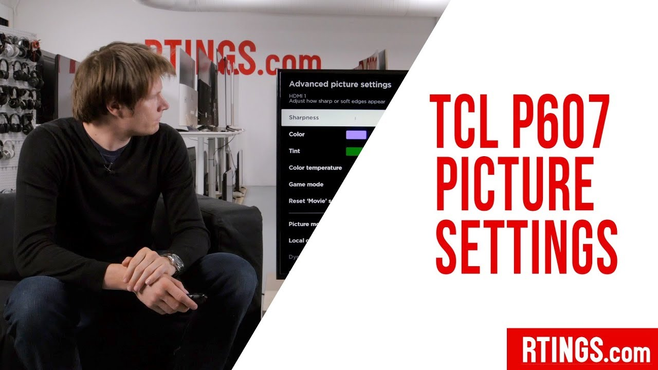 TCL P Series TV Picture Settings - RTINGS com