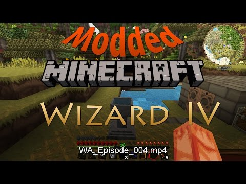 Let's play modded Minecraft: Wizardry Part 4: Generating mana - YouTube