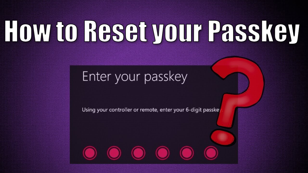 microsoft forgot passkey