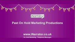 On Hold Marketing - On Hold Music & Messages from iNarrator