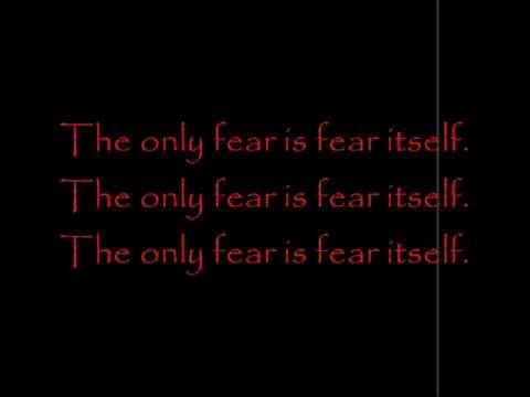 Fear by Pauley Perrette lyrics