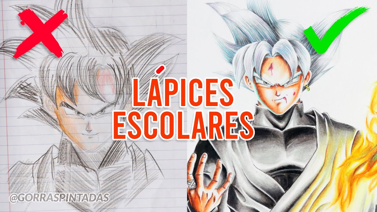 8 TIPS PARA PINTAR SEMI REALISMO ANIME / HOW TO DRAW BLACK GOKU ULTRA INSTINCT