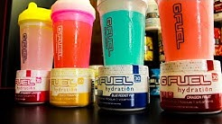 NEW G-FUEL HYDRATION FORMULA FULL REVIEW OF ALL 4 FLAVORS! // NEW GAMMA LABS G-FUEL FLAVORS!