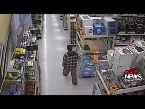 Video released of Wednesday morning break-in at Walmart in Moses Lake