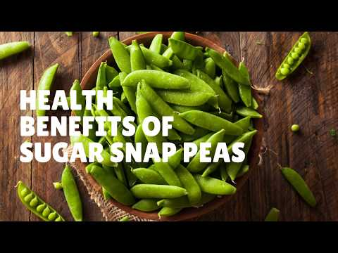 Health Benefits and Nutrition Facts Of Sugar Snap Peas Vitamins, Iron, Potassium, Protein & More.
