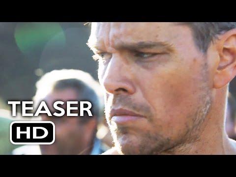 Jason Bourne Official Teaser Trailer (2016) Matt Damon Action Movie HD
