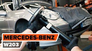 Schokbrekers vóór monteren MERCEDES-BENZ C-CLASS (W203): gratis video