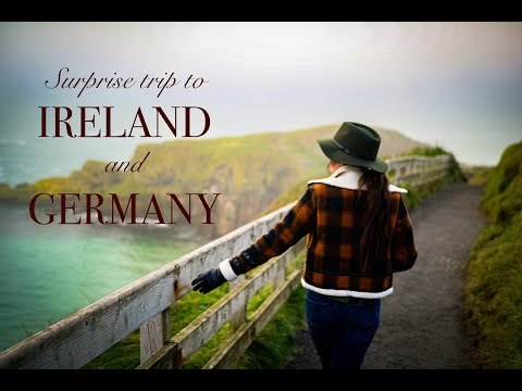 Surprising hubs w/ trip to IRELAND/GERMANY! *How much did it cost??*
