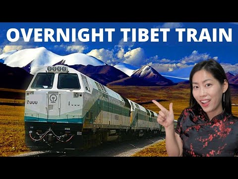 To Tibet 🚂 World's Highest Train (Qinghai Tibet Railway)