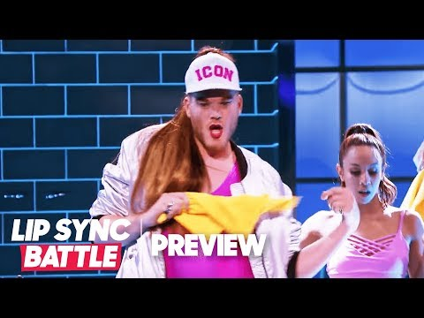 """Scott Hoying of Pentatonix is Moving """"Side to Side""""   Lip Sync Battle Preview"""