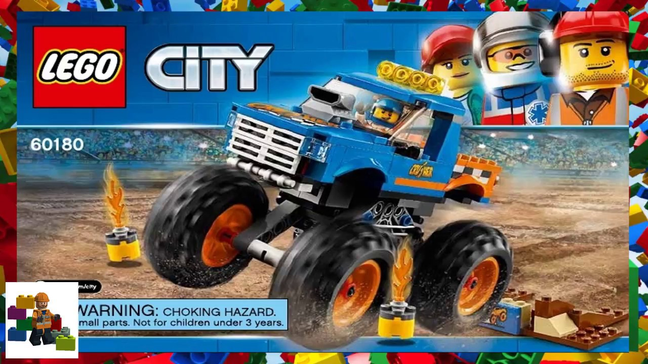 LEGO instructions - City - 60180 - Monster Truck - YouTubeLego City Truck Instructions