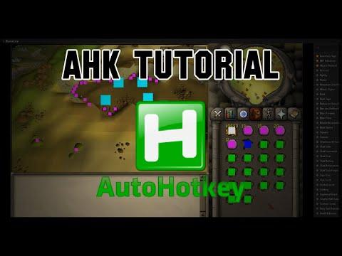 AHK Tutorial - Mining Script Using Runelite