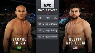 UFC 3: UFC 224 - Souza vs Gastelum