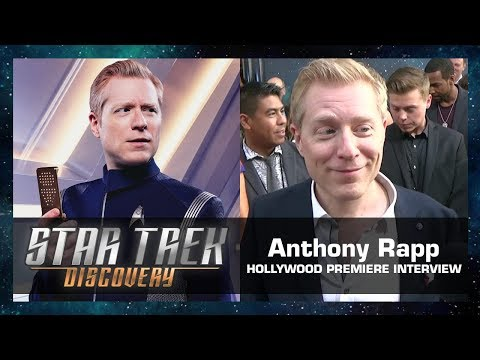 Anthony Rapp Interview - Star Trek: Discovery Hollywood Premiere (Sept. 19, 2017)