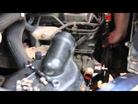 Replacing the Water Pump on a Mitsubishi Delica L400