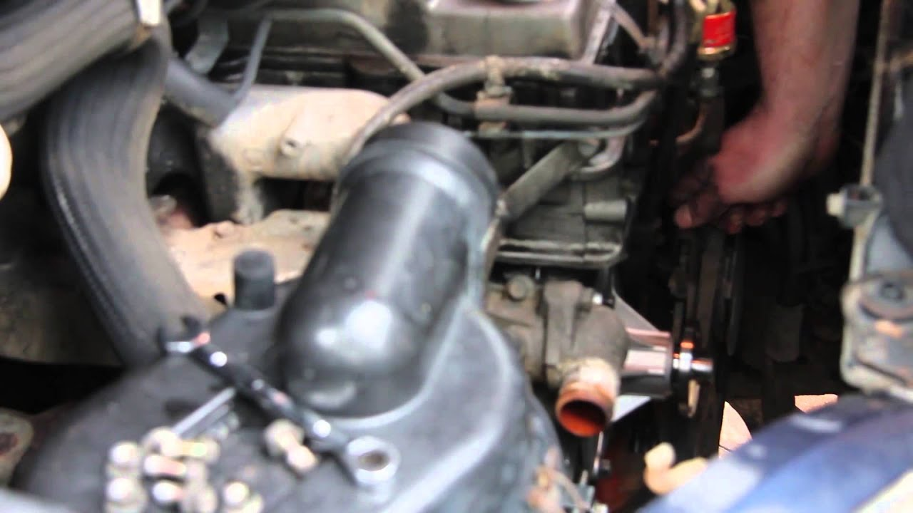 ford thunderbird solenoid diagram replacing the water pump on a mitsubishi delica l400 youtube  replacing the water pump on a mitsubishi delica l400 youtube