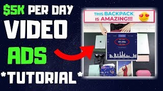 How I Create $5000/ Day Video Ads In 2019   Shopify Dropshipping