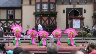 Lý ngựa ô và múa quạt   Solart tại Wernigerode
