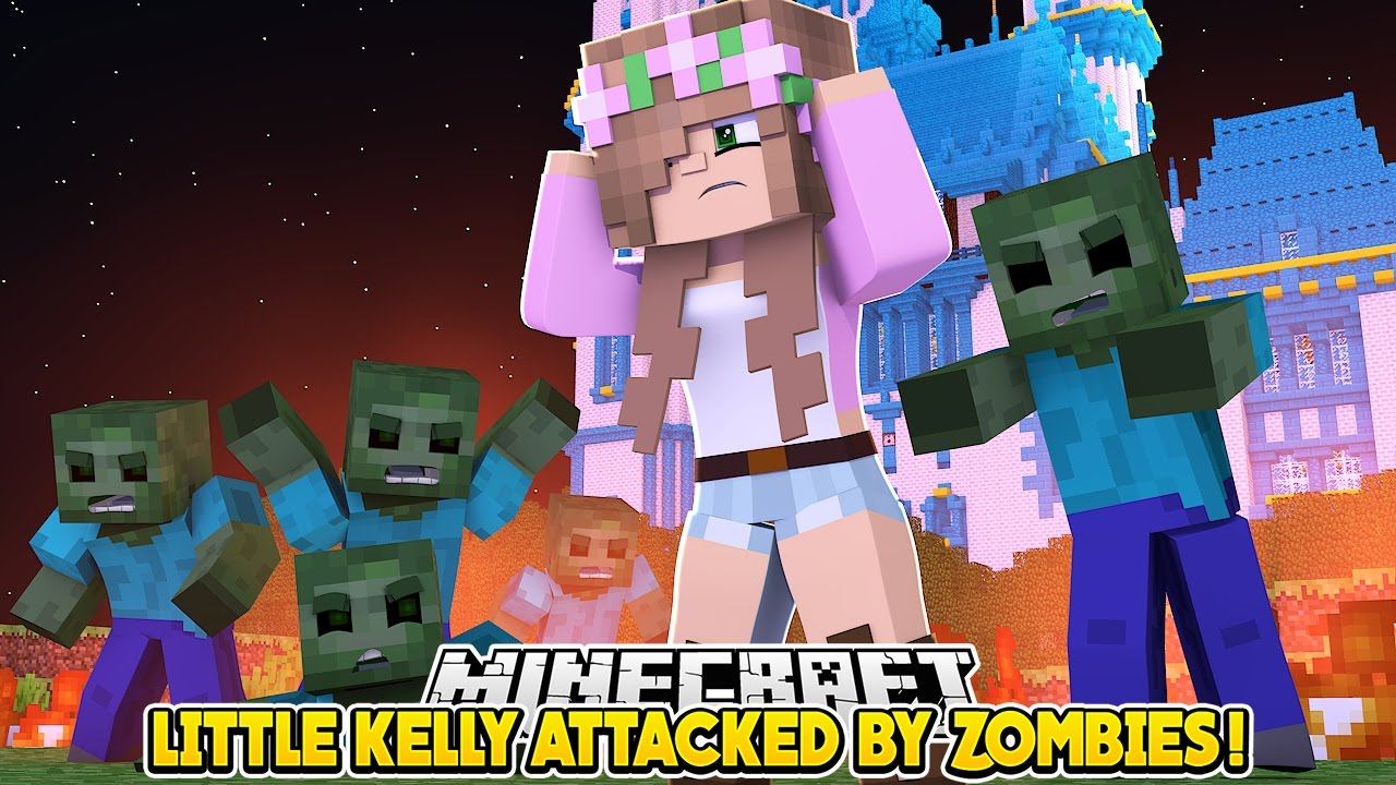 Little kelly attacked by zombies minecraft little - The little club ...