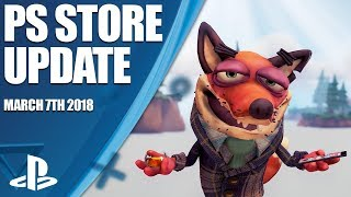 PlayStation Store Highlights - 7th March