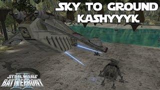 Star Wars Battlefront 2 Mod | Kashyyyk: Orbital Strike (Sky To Ground Map Pack)