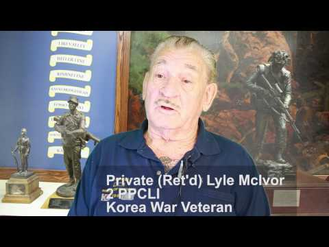 PPCLI veteran Lyle McIvor recalls Battle of Kapyong