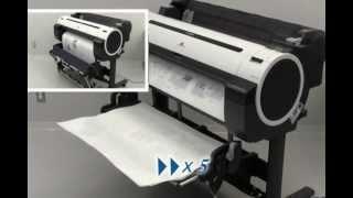 Canon iPF760, iPF765, iPF750, iPF755 Printer Stand & Basket Unit