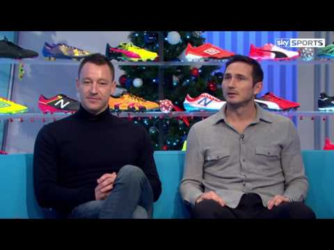 John Terry & Frank  Lampard - Quickfire Teammate Questions