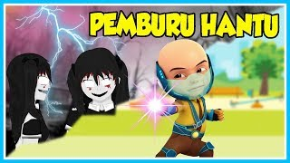 UPIN SO GHOST HUNTER!! THE GHOST OF THE LITTLE BOY-ROBLOX UPIN IPIN