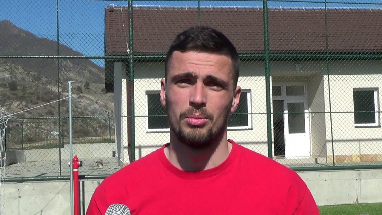 Stojan Stojcevski, najava za Rabotnicki - Sileks - YouTube