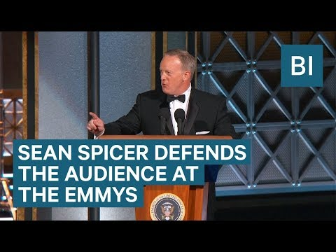 Sean Spicer makes surprise cameo at the Emmys